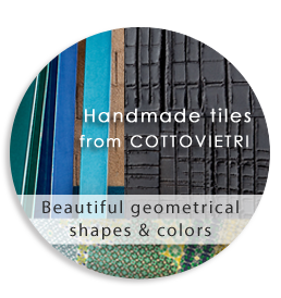 Handmade tiles from COTTOVIETRI